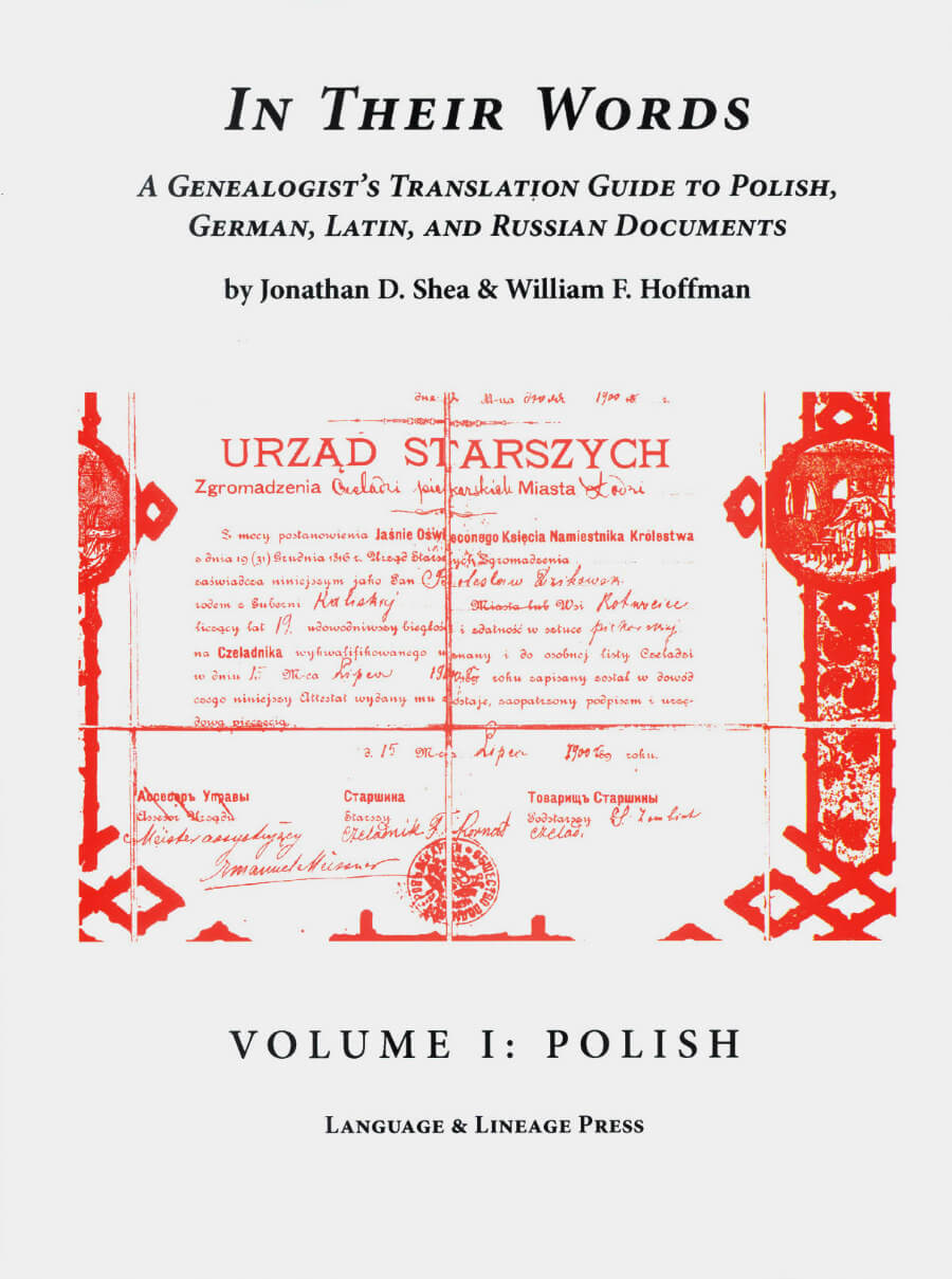 In Their Words Volume I - Polish